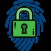 Lock over fingerprint