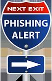 Next Exit: Phishing Alert