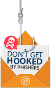 Don't get hooked by phishing emails