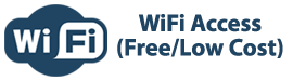 WiFi Access: Free or Low Cost